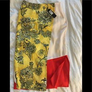 ASOS River Island wrap midi skirt